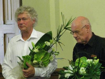 Kocsis Zoltán és Rados Ferenc Kaposvárott