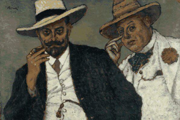 Rippl-Rónai József: Lajos és Ödön