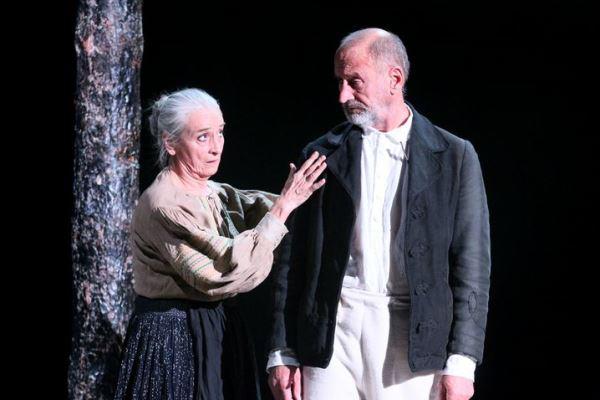 Nagy Anna és Reviczky Gábor a Vitéz lélek c. előadásban