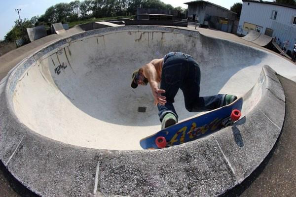 Rom Skatepark, London (forrás dazeddigital.com)