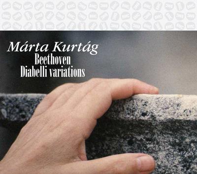 Kurtág Márta, lemez, Diabelli variációk