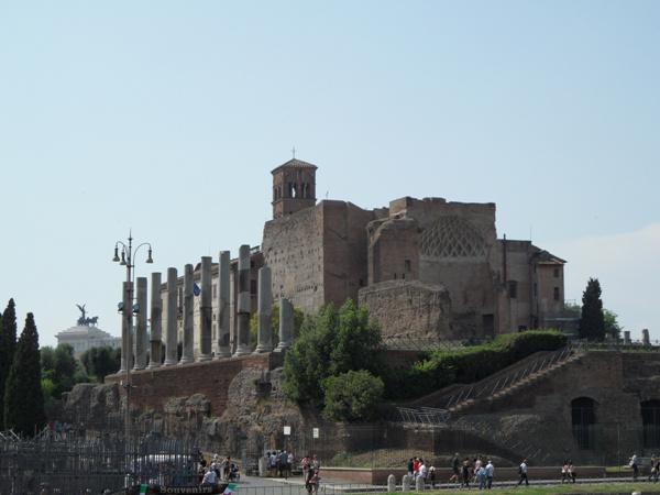 Liszt Rómában -  Santa Francesca Romana
