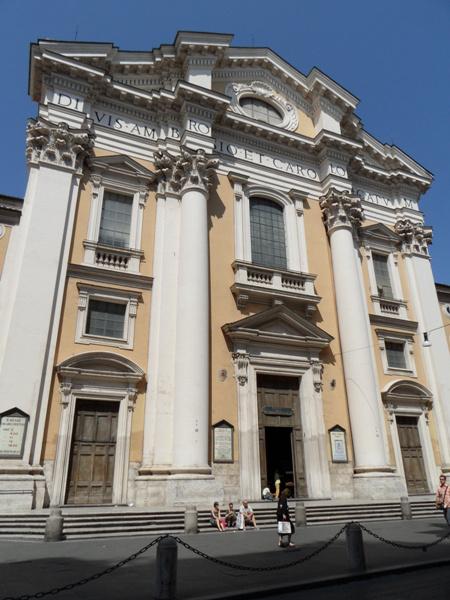 Liszt Rómában - San Carlo al Corso