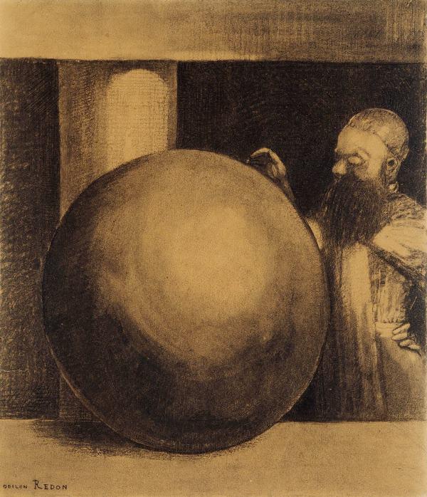 Odilon Redon: Az ágyúgolyó 1878