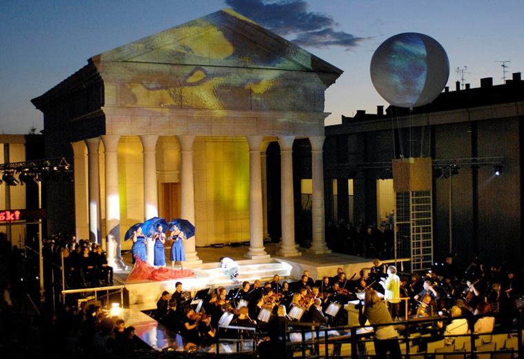 Mozart Varázsfuvolájának főpróbája a szombathelyi Iseumban