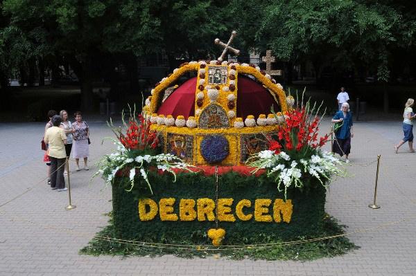 Virágkarnevál, Debrecen