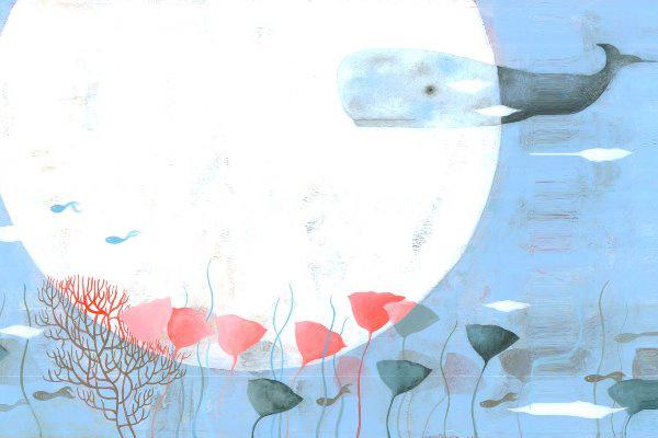 Szívmadár - illusztráció: Rofusz Kinga