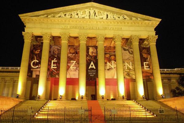 Cézanne-kiállítás a Szépművészeti Múzeumban