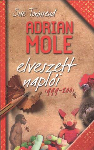 Adrian Mole elveszett naplói - borító