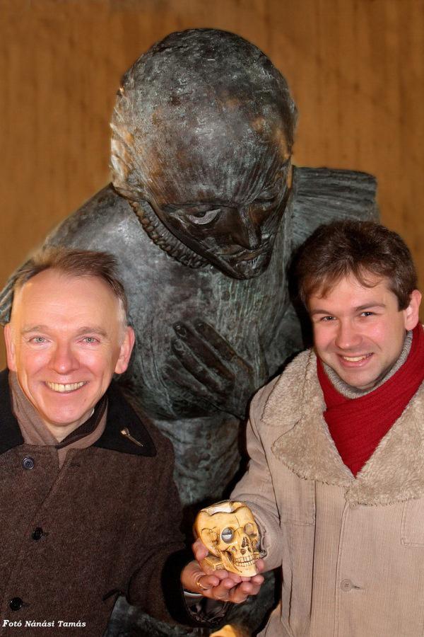 Birta Gábor és Nicholas Clapton