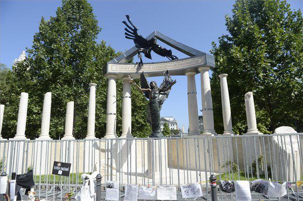 A német megszállás áldozatainak emlékműve