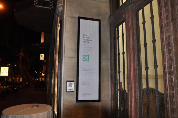 A Robert Capa Kortárs Fotográfiai Központ bejárata