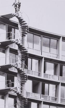 Lucien Hervé: Breuer-Nervi-Zehrfuss, Párizs (1957)