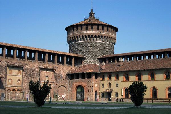 A milánói Sforza-kastély