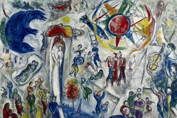 Marc Chagall: Élet (részlet)