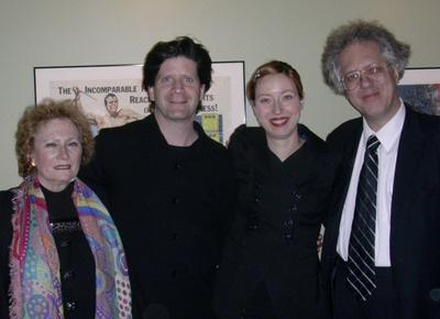 Rivka Golani és Barry Schiffman brácsaművész, Mélanie Léonard karmester és Hollós Máté2010. Kanada