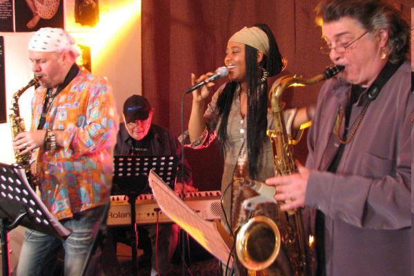 A jazz nagykövetei (Winand Gábor, Szakcsi Lakatos Béla, Elsa Valle, Csepregi Gyula)