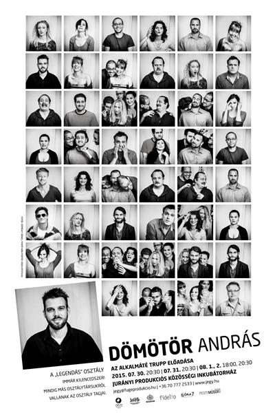 Dömötör András - plakát