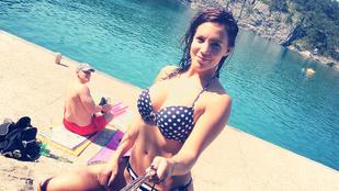 Bencsik Tamara bikinis fotóitól hátast fog dobni