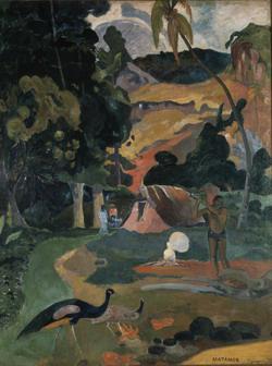 Gauguin: Matamoe (A Halál) 1892