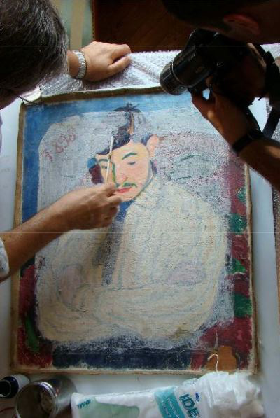 Tihanyi Lajos portréja