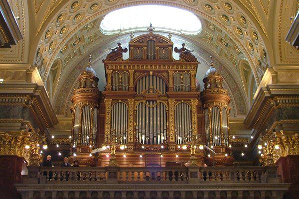 A Szent István Bazilika orgonája