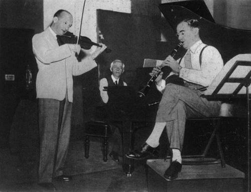 Szigeti József, Bartók Béla, Benny Goodman