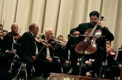 Karim Wasfi és az Iraki Szimfonikus Zenekar