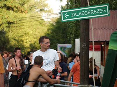 Zalaegerszeg tábla (Sziget 2009)