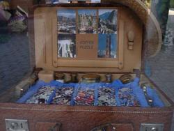 Bőrönd puzzle