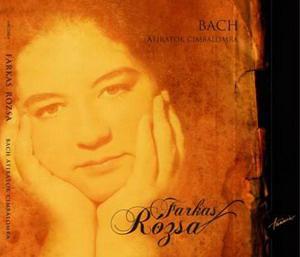 Farkas Rózsa Bach CD