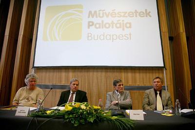 Müpa évadnyitó sajtótájékoztató, 2009.10.07