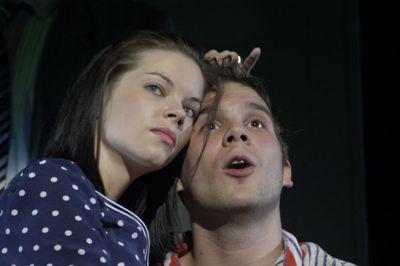 Móricz 2009 - Naplópók - Jenei Judit és Fellinger Domonkos (Móricz Zsigmond Színház - fotó: zsizsi)