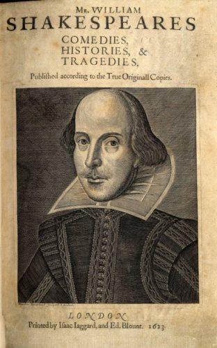 Shakespeare régi kiadás