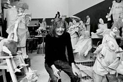 Kaiser Ottó: Sylvester Katalin szobrászművész, Párizs