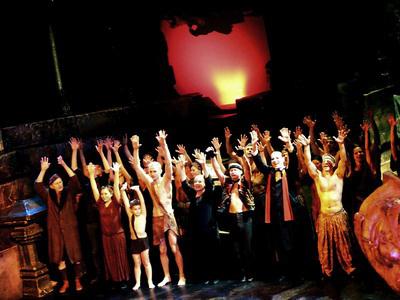 A dzsungel könyve - 800. előadás a Pesti Színházban, 2009. november 2.