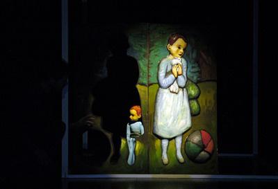 A kékruhás kislány története - Ciróka Bábszínház