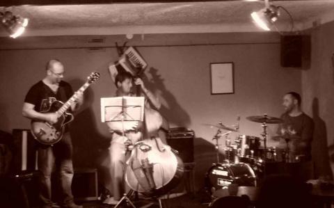 A Matthew Mitchell trio Szegeden