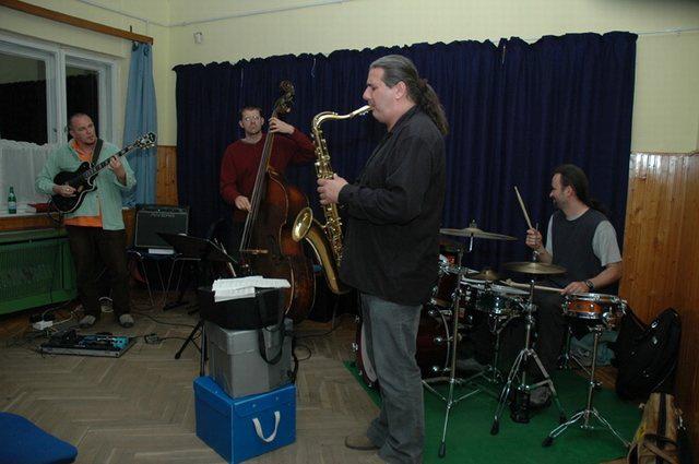 Az Eichinger Quartet BékéscsabánAz Eichinger Quartet Békéscsabán