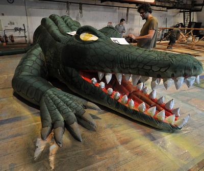 Napfogyatkozás - így készül a krokodil