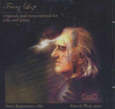 Harro Ruijsenaars Liszt CD