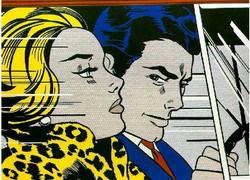 Roy Lichtenstein: Kocsiban