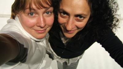 Sara Gebran és Ylva Henrikson