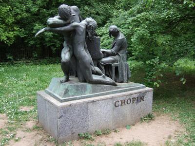 gödöllői Chopin-szobor