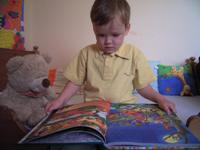 Gyerekkönyvnapok: Máté olvas