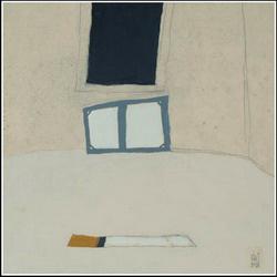 Váli Dezső: Műterem befejezett képpel (2006)