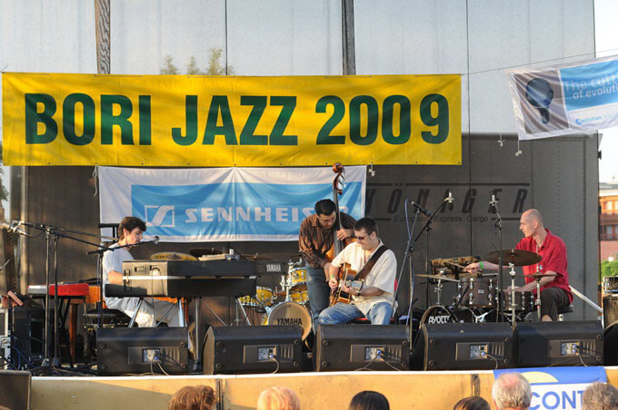 Bori Viktor kvartettje a Bori Jazz fesztiválon