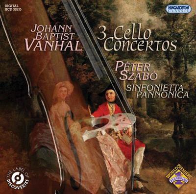 Johann Baptist Vanhal cd-borító