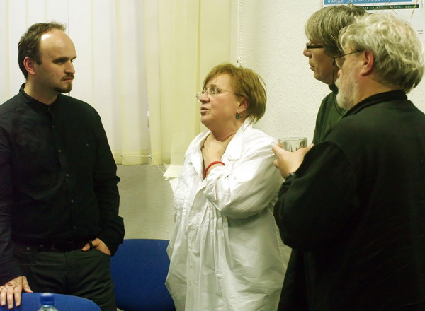 Dolcsaja Vita - olvasópróba - Peter Pavlac, Csákányi Eszter, Szabó G. László, Parti Nagy Lajos