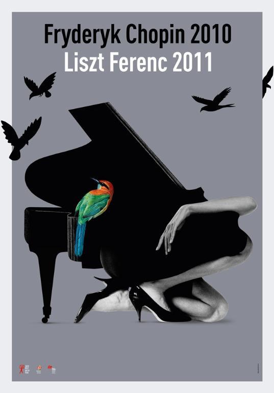 Baráth Ferenc: Chopin plakát